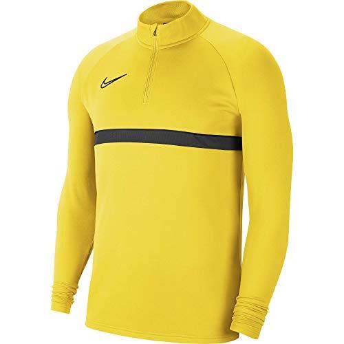 Nike Herren Dri-FIT Academy 21 Shirt, Tour Yellow/Black/Anthracite/Black, XL