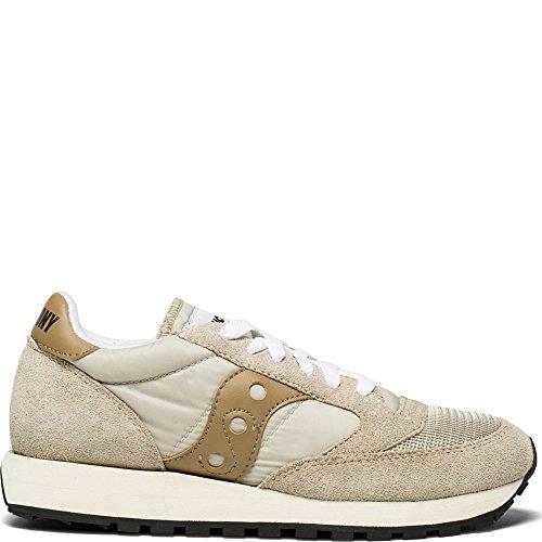 Saucony Jazz o Vintage, Sneaker Donna, Beige (Cement/Tan S70368-26), 37.5 EU