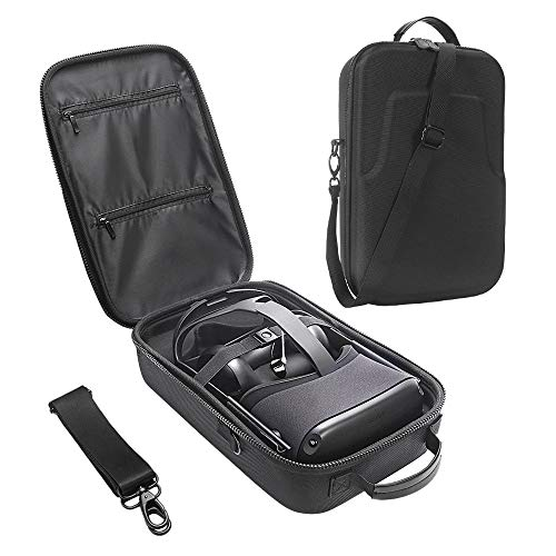 Review Of HIJIAO Hard Travel Case for Oculus Quest VR Gaming Headset and Controllers Accessories Wat...