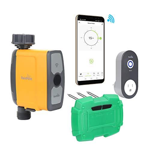 AZFUNN Wi-Fi Hose Faucet Timer and Soil Test