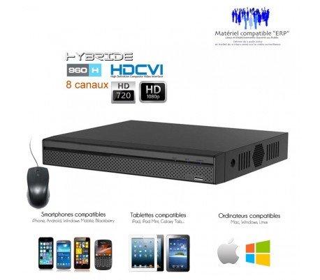 DVR Dahua–Registrador HDCVI Full 1080p 8Cámaras