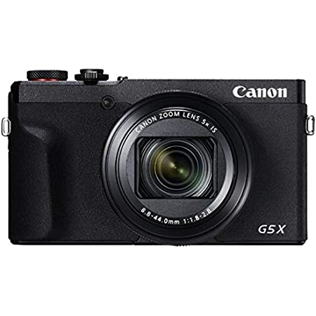 Canon コンパクトデジタルカメラ PowerShot G5 X Mark II ブラック 1.0型センサー/F1.8レンズ/光学5倍ズーム PSG5XMARKII