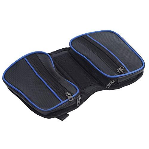 unknow Padokls Top Tube Bag Fahrrad-Telefon-Tasche Fahrrad-Rahmentasche Wasserdichter Fahrrad-Telefonhalter Große Speicherkapazität,Navy blau