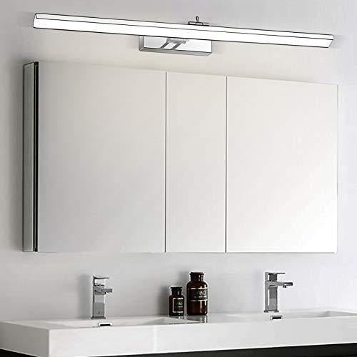 Wowatt Lámpara de Espejo LED 16W 1280LM Aplique Espejo Baño 220V 69cm...