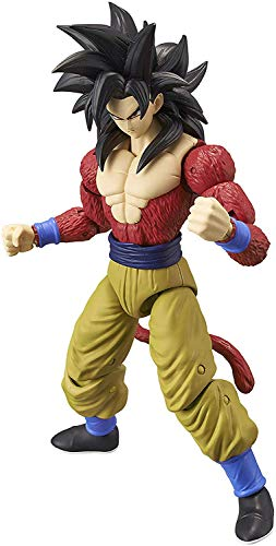 Dragon Ball- Figura Deluxe Super Saiyan 4 Goku, Color (Bandai 36180)