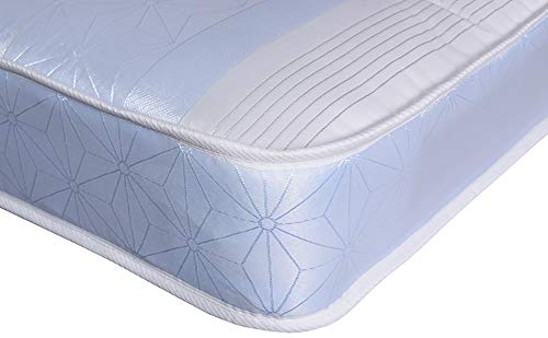 Single Mattress - The Kensington Deep Tufted Mattress 3ft by 6ft3 (90cm x 190cm) Great Kids Mattress 1401