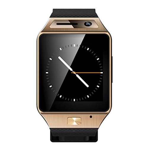 ddlbiz gv08s Bluetooth 3.0 Zeigt Smart Watch Telefon mit Touchscreen Display für Telefon Andorid Samsung/HTC/LG/Huawei/ZTE. Gold