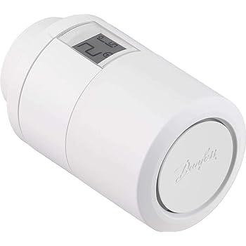 Danfoss 014G1102 Tête électronique Bluetooth Eco, Blanc, 11,5 x 11,5 x 5,5 cm