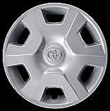 Desconocido Genérico - Tapacubos para Toyota Yaris (1 Unidad) - Copa de Rueda 14' 6401/4 2006-2014