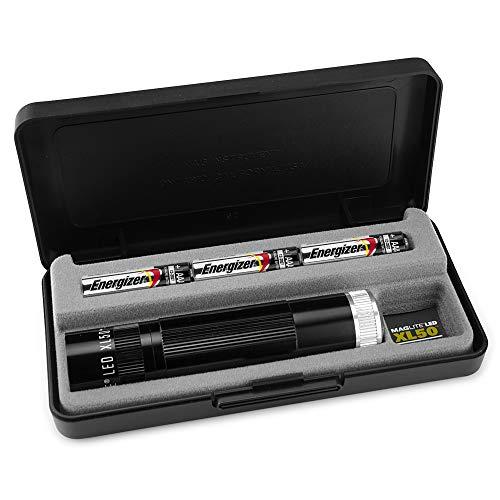 MagLite, XL50 Spectrum Series Flashlight, AAA, Black Body, White LED Light