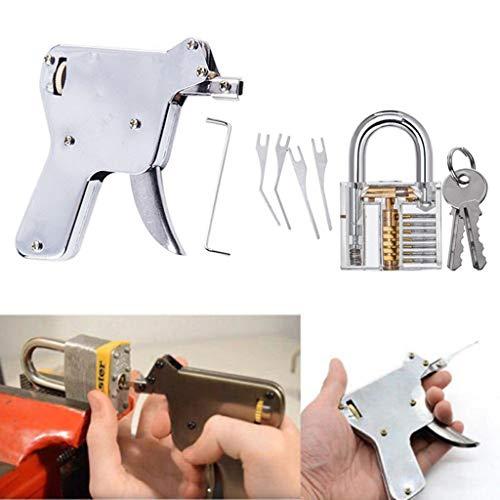 Gaddrt Strong Lock Pick Vorhängeschloss Repair Tools Kit Türöffner Schlagschlüssel Schlosser Verschraubung fixieren