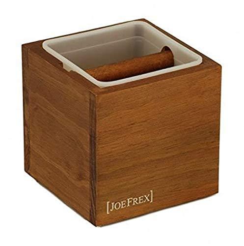 Joe Frex JF-KCB Coffee Machine Part - Knock Box, One Size, Brown, JF-KCB