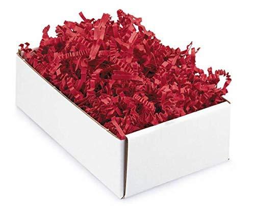 Papier-Füllmaterial Kräuselpapier für Geschenke - 500 gr (rot)
