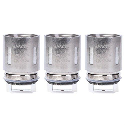 SMOK V8-T8 Coils, für TFV8 Tank Cloud Beast Clearomizer (0,15 Ohm), Riccardo Verdampferköpfe für e-Zigarette, 3 Stück