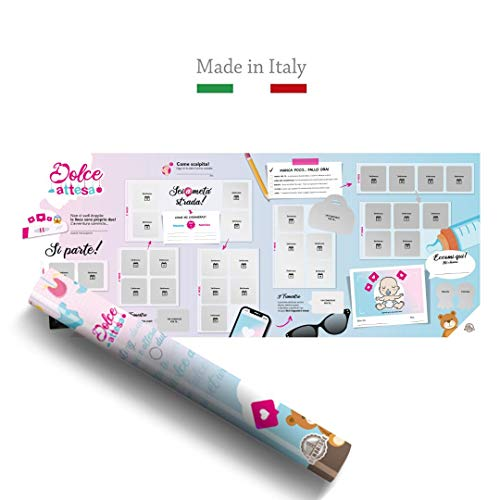 Benbridge Calendario de Embarazo Scratch, Fabricado en Italia