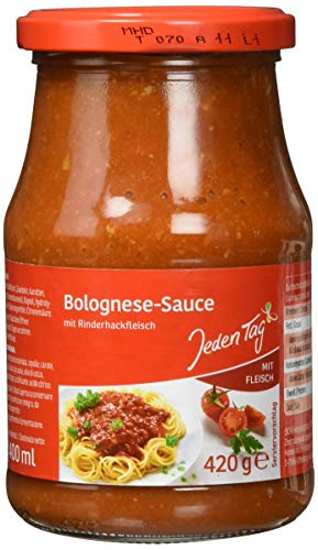 Jeden Tag Nudelsauce, Bolognese, 420 g / 400ml