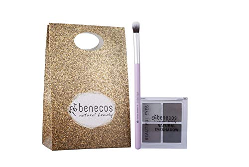 Benecos - Coffret cadeau pinceau et fard à paupières