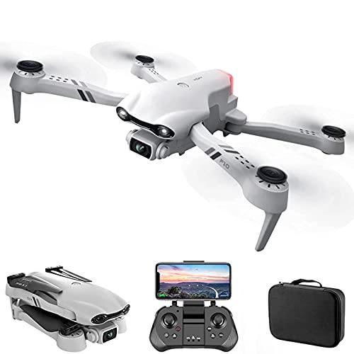 DCLINA GPS WiFi FPV Drone con Doppia Fotocamera 4K Mini droni con Occhiali VR Drone Pieghevole Quadcopter Foto gesti Seguimi Una Chiave per Tornare a casa Traiettoria Volo