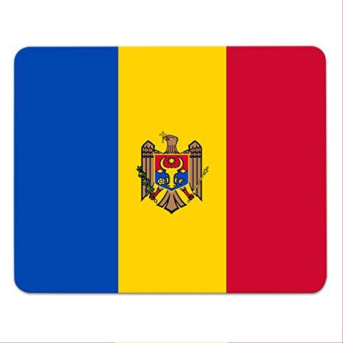Addies Mousepad Moldawien Landesflagge - Fahne - Moldova - Republik Moldau