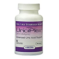 New improved formulation of the finest natural ingredients renowned for their alkalising properties. UriciPlex is an entirely natural herbal formulation Save money with our special Offer when you buy two or three bottles of UriciPlex, discount shows ...