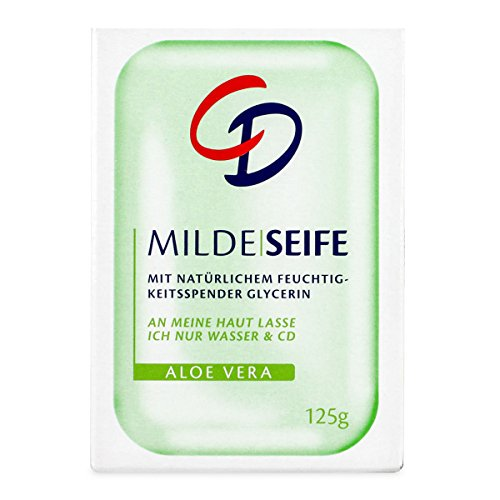 CD Milde Seife Aloe Vera 125 g Pflegt selbst trockene Haut zart & geschmeidig