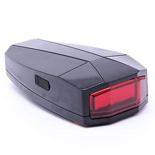 YIDAINLINE 4 In 1 Fahrrad Sicherheitsschloss Wireless Alarm Diebstahlschutz Fernbedienung Neu
