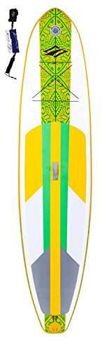 naish Nalu 10'6LT SUP 2017per stand up paddle board gonfiabile con supwave. de Coil-Leash, Stand Up Paddle Board ISUP