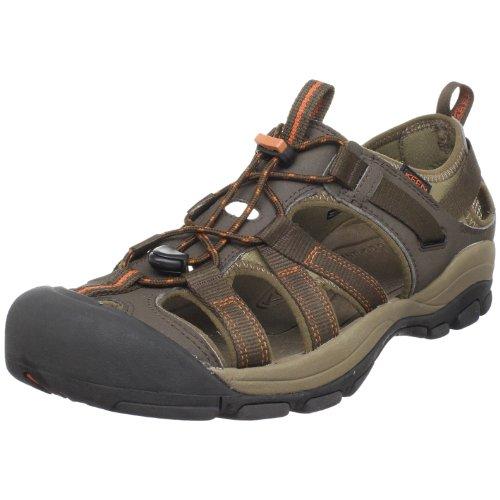 Keen Herren Owyhee Sandalen Trekking- & Wanderschuhe Braun (Slate Black/Rust) 47 EU