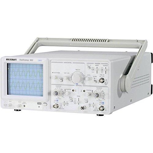 Voltcraft VC 630-2 - Osciloscopio analógico (0 DC) a 30 MHz) (Herramientas y Mejora del hogar)