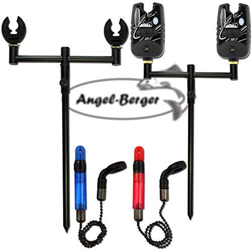 8 Gewinde f/ür Rod Pod MagiDeal Karpfen Angel Pod Buzz Bars f/ür 3 Ruten Bank Sticks Halter 50,5 cm Angeln Buzz Bar M3