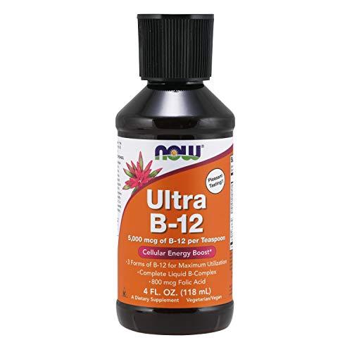 NOW Foods - Líquido Ultra B-12 5000 mcg. - 4 fl. oz.