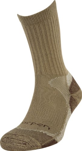 Lorpen Hunting Coolmax® Socken – 2er-Pack, Größe M, Khaki
