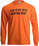 This is My Deer Hunting Shirt | Funny Hunter Blaze Orange Safety Clothes T-Shirt-(Adult,XL)