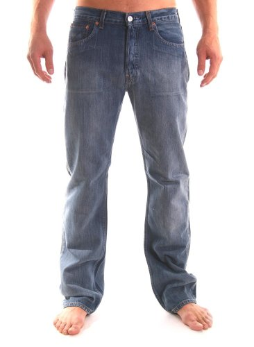 Levi\'s Herren Jeanshose Blau Azzurro Slavato 28
