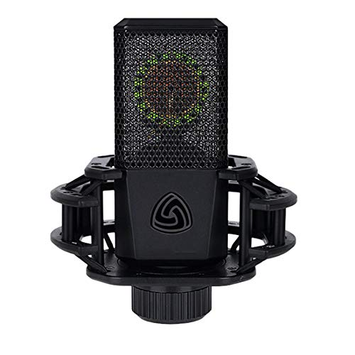 YYZLG Micrófono Condensador de membrana grande, Micrófono de Condensador de Ordenador de Canción Micrófono de Canción de Ancla