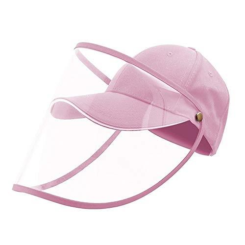 JIANJIAY Umweltschutz Baseballkappe Sanddicht Transparent Transparent Staubdicht Kappe Sonnenschutz Isolierkappe (A5)