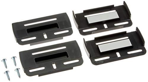 Kennzeichenhalter mit Simple Fix, in Schwarz, Inhalt: 2 Stück