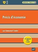 Précis d'économie d'Emmanuel Combe