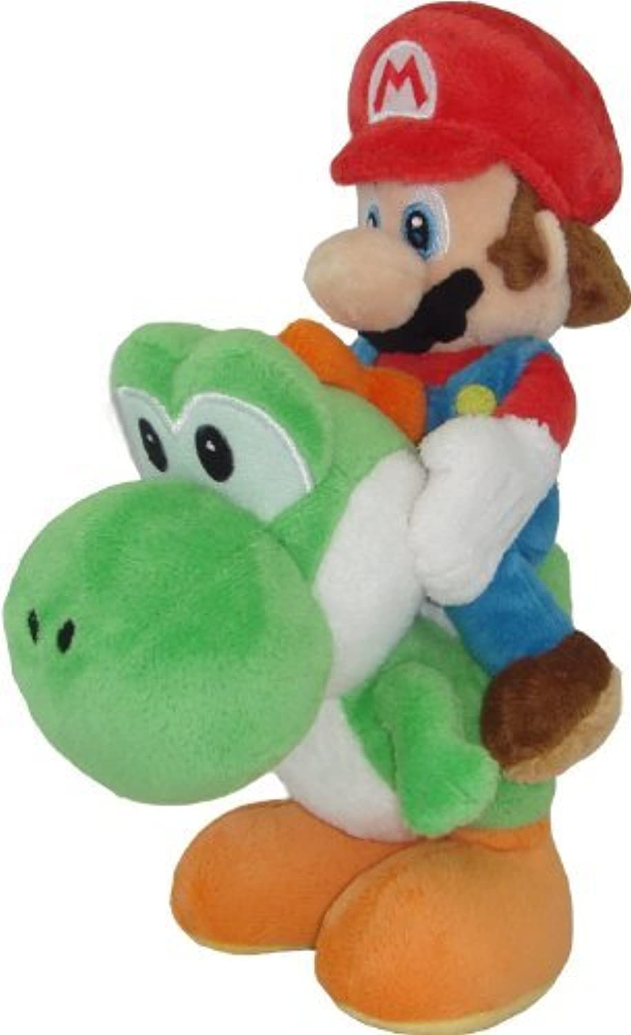 Sanei Super Mario Plush Series Plush Doll  8 Mario and Yoshi Plush Japanese Import by Sanei