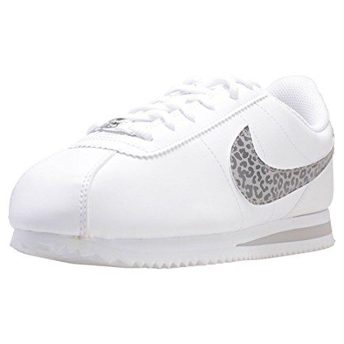 Nike Cortez Basic SL (GS), Scarpe da Fitness Donna, Multicolore (White/Atmosphere Gre 100), 38 EU