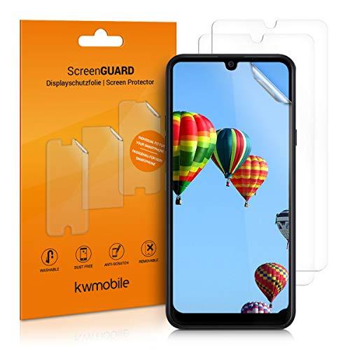 kwmobile 3X Schutzfolie kompatibel mit LG K40S - Folie klar - Bildschirmschutzfolie Bildschirmschutz transparent Bildschirmfolie