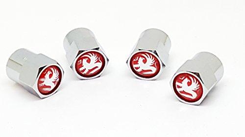 c2cTC Ventilkappen für Opel Autos, mit rotem Samtbeutel