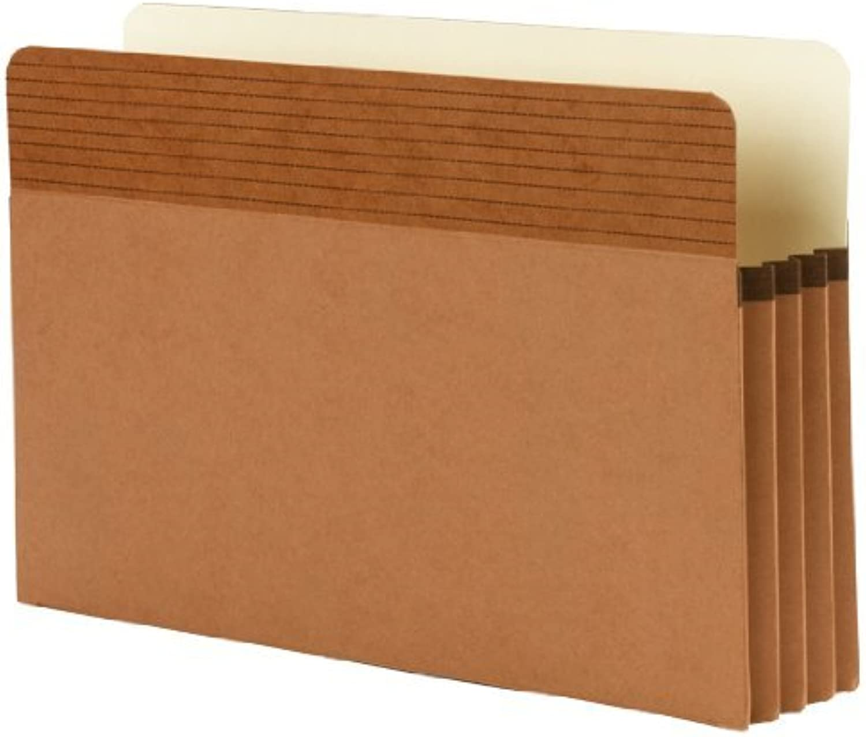 Smead Easy Grip® File Pocket, Straight-Cut Tab, 3-1 2 2 2  Expansion, Legal Größe, rotrope, 4 per Pack (73218) by Smead B0141MITPA | Billig ideal  486d4f