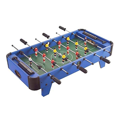 Read About NILINBA Table Football Machine - Wooden Soccer Game Table W/Footballs, Indoor Table Socce...