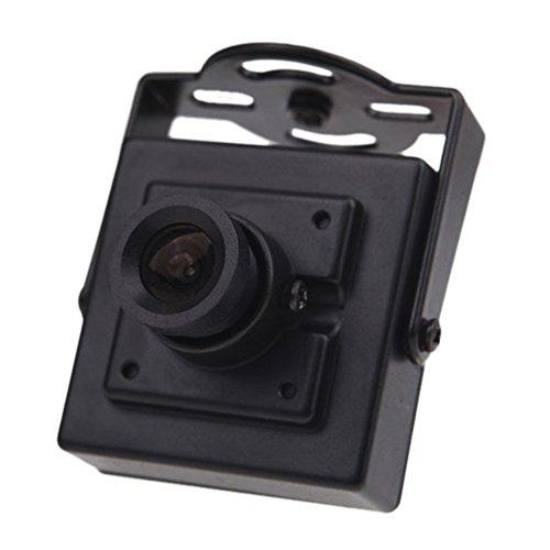 SODIAL Mini HD 700TVL 1/3' CMOS NTSC 3.6mm MTV Junta Lente Mini CCTV Seguridad Video FPV Color Camara