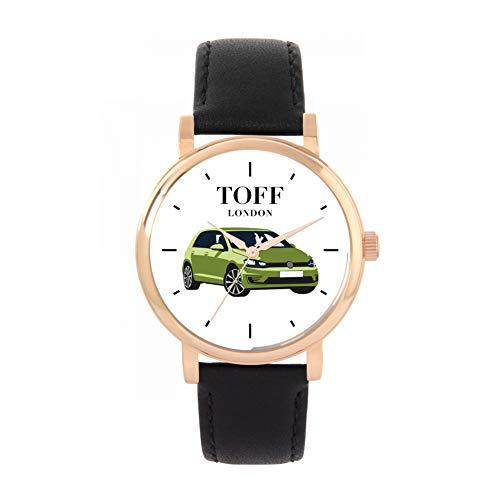 Green Small Car Watch - Toff London TLWS-11063