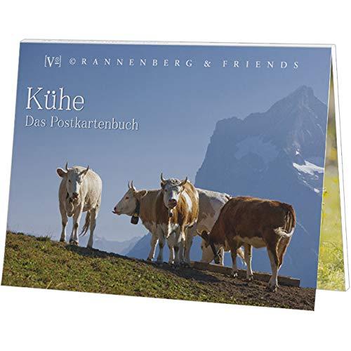 Postkartenbuch KÜHE IN DEN ALPEN
