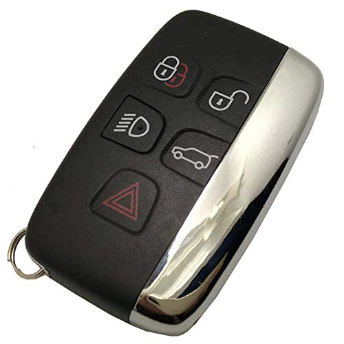 Replacement Smart Car Key Fob Case Cover fit for Range Rover Key Fob Shell Entry Keyless Remote Control Key Housing