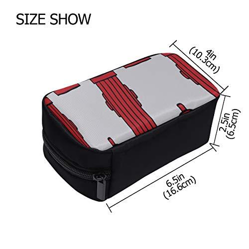 Fashion Zipper Bag Cute Creative Cartoon Fire Extinguisher Toiletry Tote Bag Designer Makeup Bag Travel Makeup Bags For Women Cosmetic Bags Multifunction Case Cosmetics Bags