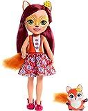 Enchantimals Huggable Cutie Felicity Fox Muñeca Grande con Accesorios (Mattel FRH53)...